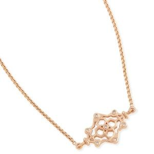 Kendra Scott Riley Necklace in Rosegold